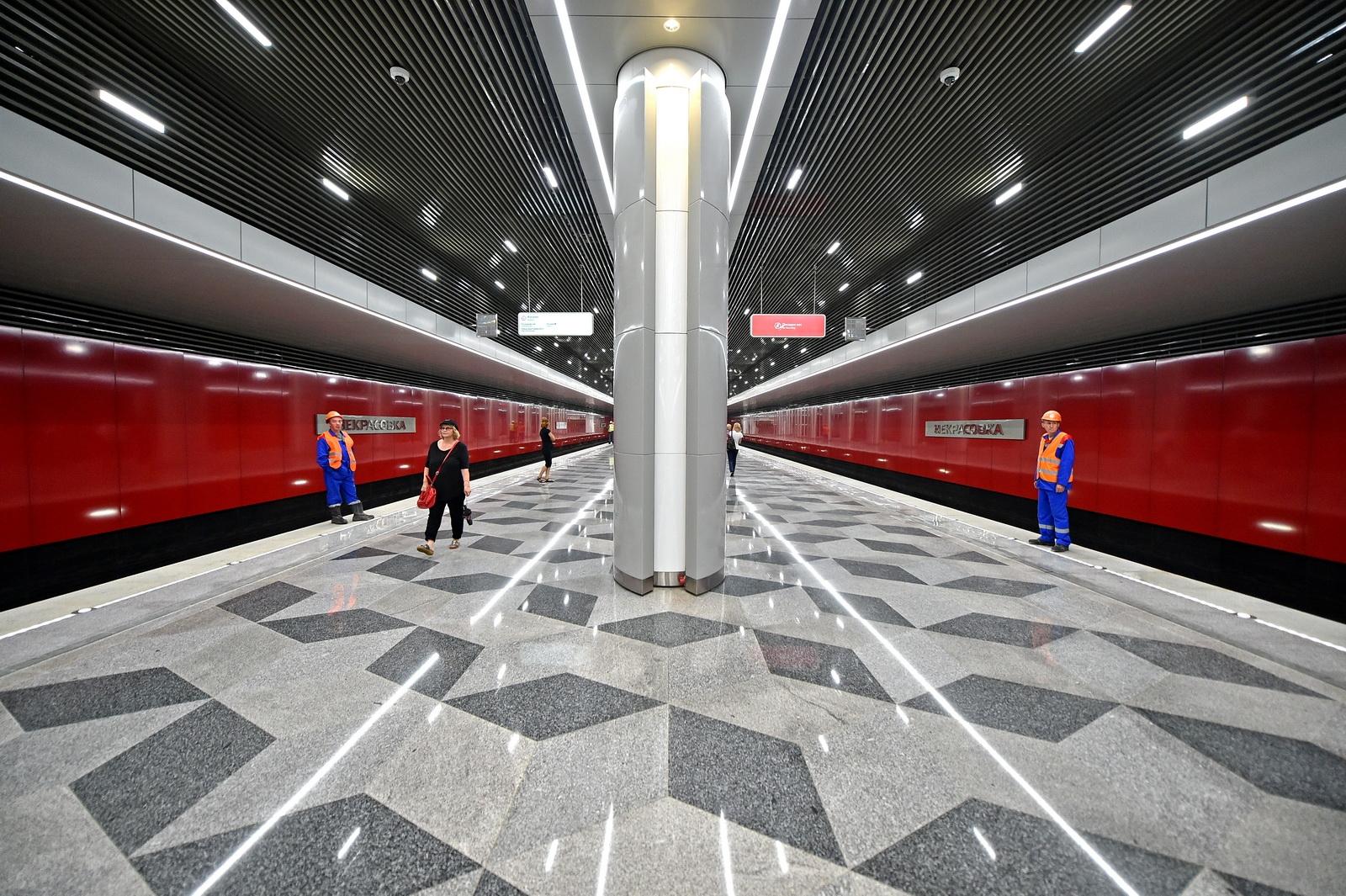 Станция Некрасовка: открытие переносится на 2019 год