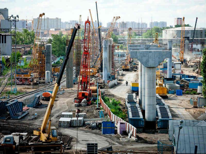 Инфраструктура и полная перестройка города фото