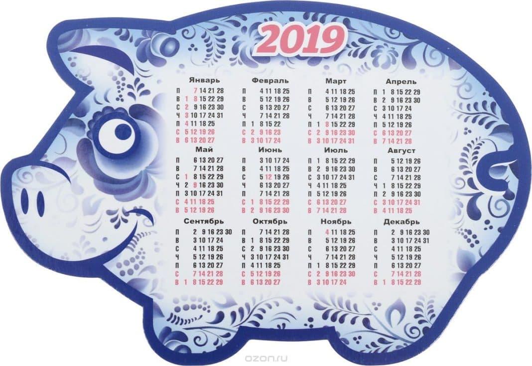 Как формируется данный календарь фото