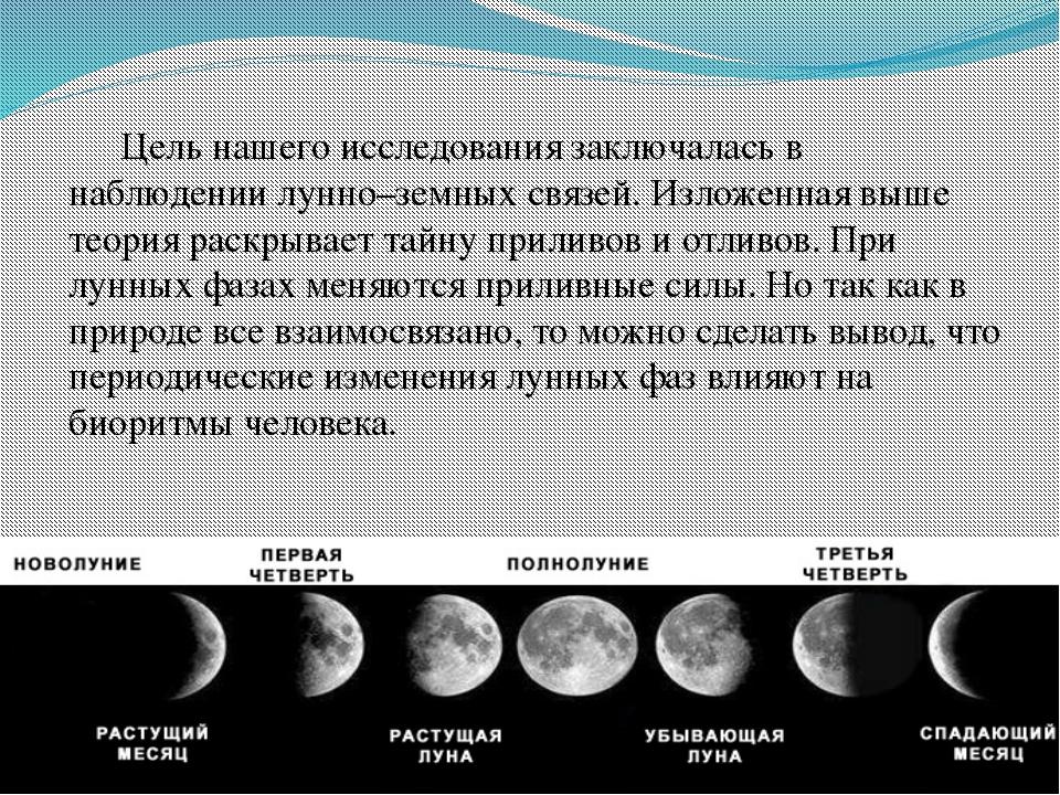 Особенности влияния лунных фаз на человека фото