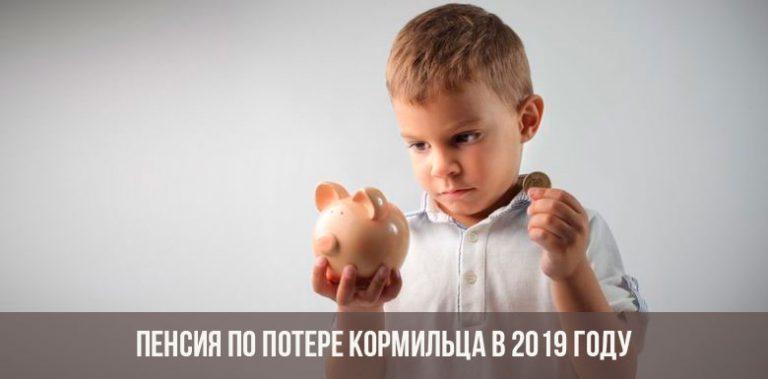 Пенсия по потере кормильца в 2019 году фото