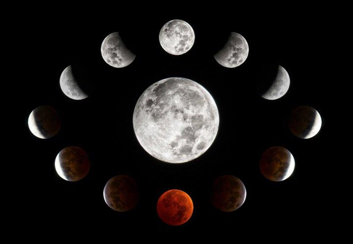 Порядок смены лунных фаз в июле 2019 года фото
