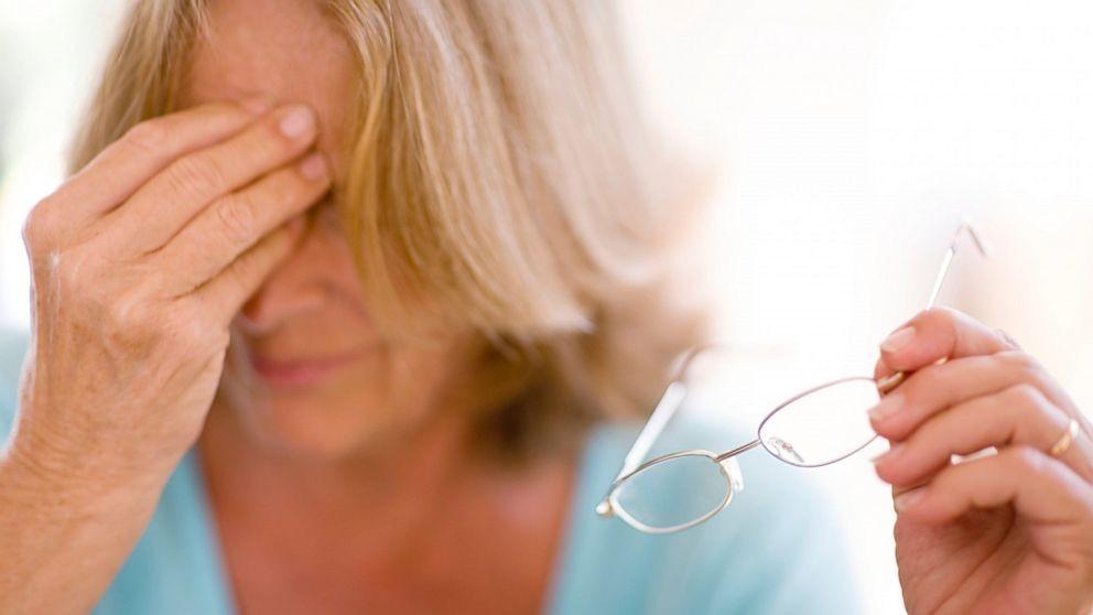 Резкое падение остроты зрения