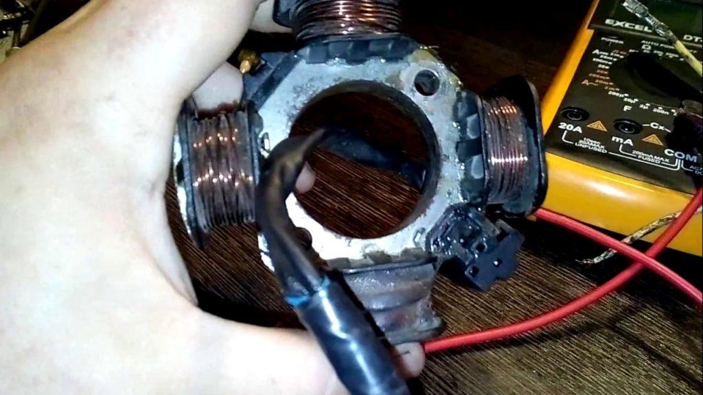 Как проверить генератор мопеда Дельта?